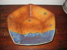 SUPER DART DARTINGTON STUDIO POTTERY BOWL COLOURFUL