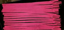 """Lot of 17 raspberry pink red zippers closed end 20"""" Talon without top stop"""