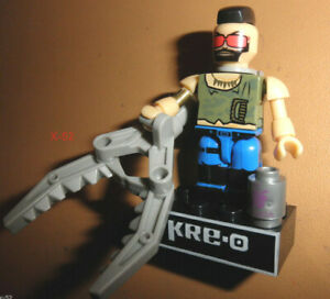 GIJOE gi joe KRE-O Cobra Zartan DREADNOK RIPPER Kreo mini figure toy minifigs