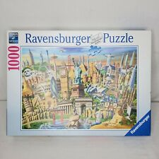 Ravensburger 1000 Piece Jigsaw Puzzle World Landmarks 198900