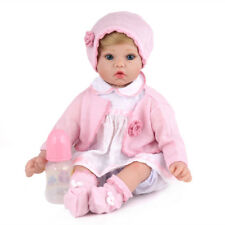 "20"" Reborn Baby Girl Newborn Dolls Soft Vinyl Silicone Doll Birthday Xmas Gifts"