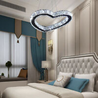 Modern Crystal LED Pendant Lighting Fixture Contemporary Ceiling Lamp