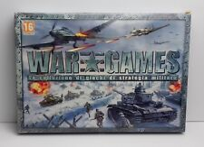 WAR GAMES - Pc - LA COLLEZIONE DI GIOCHI DI STRATEGIA MILITARE FX FACTORY SEALED