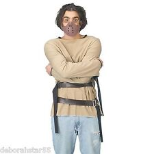 Hannibal Lecter Straigh Hacket and Mask Halloween Fancy Dress Costume Adult