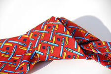 cravatta seta ettore bugatti EB  camicia cerimonia rosso stilografica tie silk