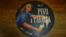 CA. TCESKO BEER COASTER GIRL