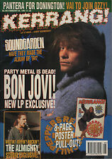 Jon Bon Jovi on Kerrang Cover 1994    Red Hot Chili Peppers   Motley Crue   Vain