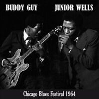 BUDDY GUY & JUNIOR WELLS - CHICAGO BLUES FESTIVA NEW VINYL RECORD