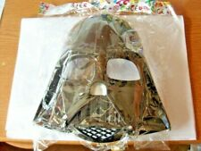 STAR WARS DARTH VADER PLASTIC FACE MASK  FANCY DRESS ACCESSORIES - NEW / SEALED