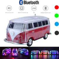 LED Wireless Bluetooth Speaker Portable Stereo Loud Speakers Super Bass Sound