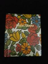 VTG 70'S 2 Dry Mount Photo Albums Floral Covers 10 Pages 20 Sheets Each