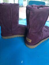 UGG Australia Womens Classic Short Purple Bots Shoes Retail $200 9