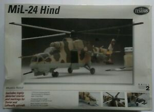 Mil-24 Hind Model By Testors New in shrink. 1/72 scale skill level 2
