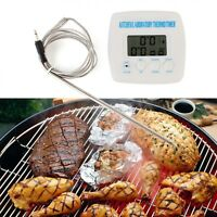 Kitchen Probe Timer Alarm Function Thermometer With Cable Wire Cooking Equipment