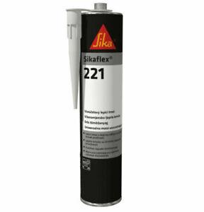 Caravan / Motorhome- Sikaflex 221 Adhesive Sealant - Black - BG160