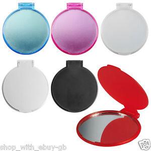 Ladies Handbag Cosmetic Mirror Compact Folding Purse Vanity Pocket Size Make Up
