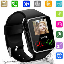 Bluetooth Smart Watch Wristwatch Unlocked Phone For Android Men Women Boys Girls