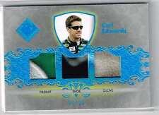 2012 TOTAL MEMORABILIA CARL EDWARDS RU 2CLR FS/SHOE/DIRTY GLOVE CARD#TM-CE /25
