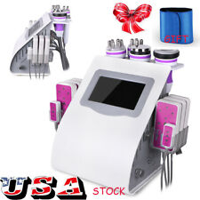 6in1 40K Ultrasonic Cavitation Radio Frequency Vacuum Cellulite Slimming Machine