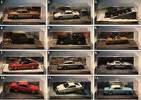 De Agostini-James Bond Collection-Scale 1:43-Diorama-Modell-Sammlung-PC-Vitrine