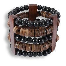 Armband aus Sono und Kokosnuss Holz Handarbeit Design B020