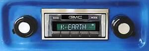 Bluetooth Enabled 1967-1972 GMC Truck 300 watt AM FM Stereo Radio iPod, USB