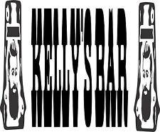 Kellys Bar Sticker 575 x 125 Quality Sticker