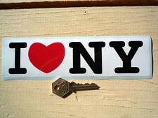 I LOVE NY aufkleber NEW YORK Klassisch Amerikanisch auto-aufkleber