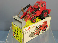 """DINKY TOY' No.437 """"MUIR HILL""""  2 WL LOADER *TAYLOR WOODROW* ( RED )  VN MIB"""