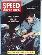 Speed Mechanics Magazine Dec/Jan 1955 Olds 88 VG No ML 011017jhe