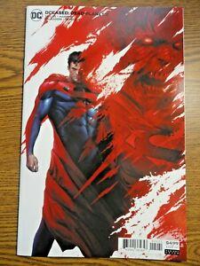 DCeased Dead Planet #2 Mattina Superman Variant Death Metal 1st Pr Deceased DC