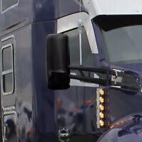 International 9200 Chrome Mirror Cover Housing Passenger Side # 11945