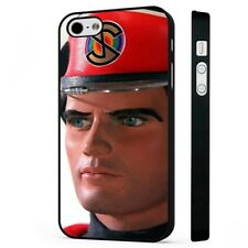 Captain Scarlet Thunderbirds BLACK PHONE CASE COVER fits iPHONE