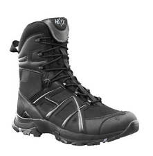 Haix Black Eagle Athletic High Sidezipper Adventure Stiefel Boots schwarz UK 9.5