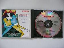Jarvi conudcts Stravinsky Jeu de Cartes & Orpheus RCOA Chandos 9014 CD