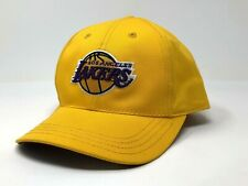 Los Angeles Lakers Puma Hat One Size Adjustable Basketball Yellow Official NBA