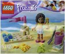 Nueva Marca Lego-Andrea and Beach (2012) - Friends - 30100-Rare Promo Set