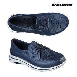 Skechers Mens Cali Gear Go Walk 5 Cruiser Lace Up Casual Walking Boat Shoes
