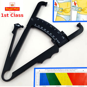 Body Fat Percentage Measuring Calipers - Training Weightloss Exercise Health