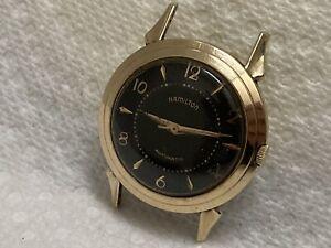 wristwatch HAMILTON  automatic 17 jewels cal 661 10 k gold f. FANCY LUGS K 402