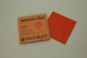 "dedolight Gel Filter Set ""warm tone"""