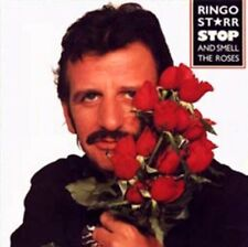 RINGO STARR: STOP AND SMELL THE ROSES - CD - RARE/OOP - WRACK MY BRAIN - BEATLES