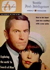 TV Guide 1965 Get Smart Don Adams Barbara Feldon Regional TV Prevues EX/NM COA
