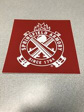 SPRINGFIELD ARMORY Authentic Sticker Firearms Hunting Gun