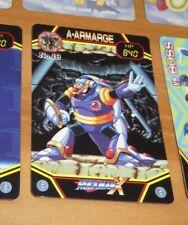 ROCKMAN X MEGAMAN CARD REG CARTE NO 18 BANDAI MADE IN JAPAN 1993 **