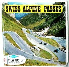 3x VIEW MASTER REEL ⭐ SWISS ALPINE PASSES ⭐ SCHWEIZ SWITZERLAND 🏔️ GRIMSEL C127