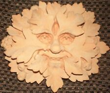 Green Man Plaque, Latex Craft Mould Ornament Reusable Art & Crafts Hobby Wicca 2