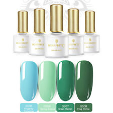 4 pcs/set BORN PRETTY Dark Green UV Gel Polish Kit UV LED Lamp Nail Manicure