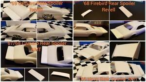 ANY 5 RESIN REAR SPOILERS. One Price. YOU CHOOSE!!!
