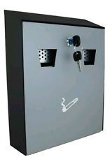 WALL MOUNTING CIGARETTE DISPOSAL BIN ASH TRAY PUB OFFICE HOM STEEL OUTDOOR LARGE